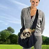 Outward Hound Kyjen  OH00587-BK Sling-Go Pet Sling Dog Carrier, One Size, Black