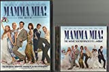 Mamma Mia DVD/CD Collection Combo Pack Includes Widescreen DVD and The Movie Soundtrack CD Meryl Streep Pierce Brosnan Amanda Seyfried
