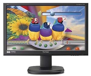 Viewsonic VG2436WM-LED 24-Inch (23.6-Inch Vis) Ergonomic LED Backlit Monitor with 1920x1080 Resolution - Black