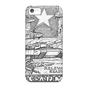 Army Relevant Ready Hot Style cell phone skins Protective Attractive Iphone5c iphone 5c