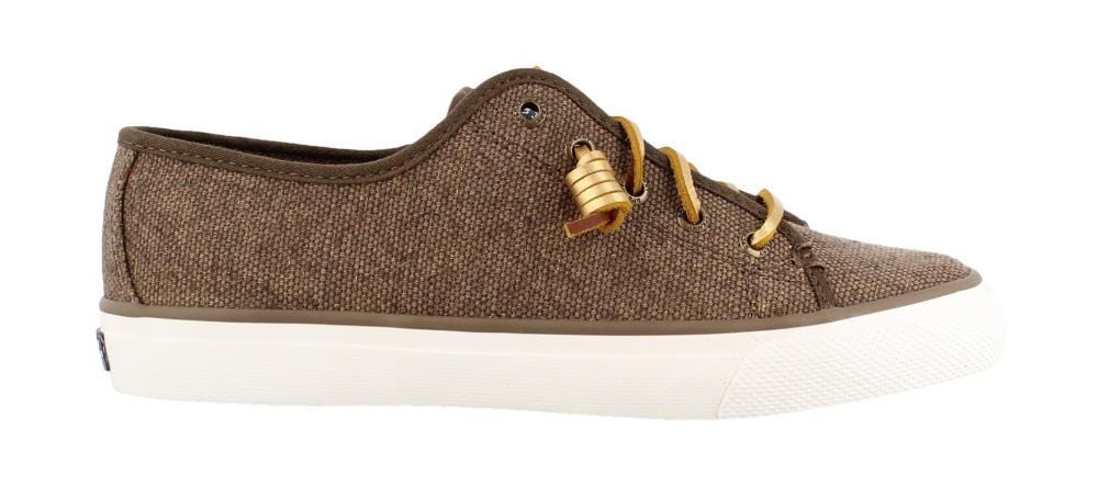 Sperry Women's Seacoast Metallic Canteen/Heavy Canvas Oxford