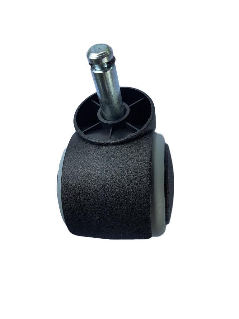 Rueda de goma de 50 mm para silla de oficina, rueda giratoria de ...