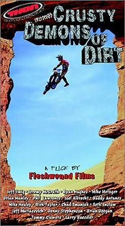 Amazon com: Crusty Demons of Dirt 1: Motocross [VHS]: Ryan
