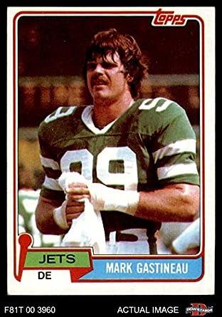 1981 Topps   342 Mark Gastineau New York Jets (Football Card) Dean s Cards 8 4cfb17604