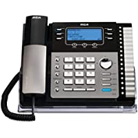 RCA25425RE1 - ViSYS 25425RE1 Four-Line Phone with Digital Answering Machine