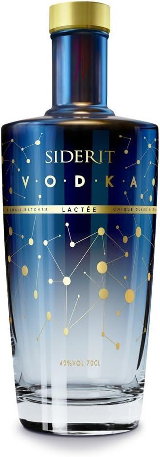 Vodka Siderit Lacteé 70cl. 40% Vol.: Amazon.es: Alimentación y bebidas