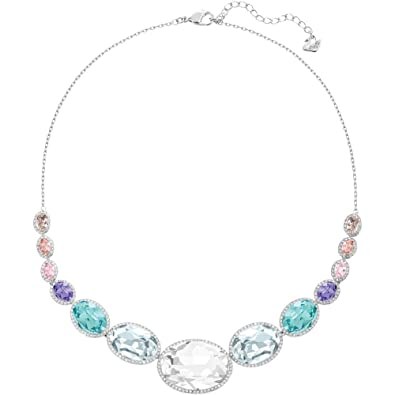e67af09616374 Amazon.com: Swarovski Caption Oval Necklace: Jewelry