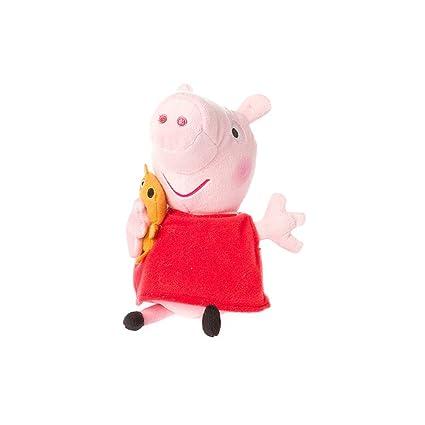 b3edf8eb123 Amazon.com  Claire s Accessories Ty Beanie Babies Peppa Pig Plush - 8 1 2