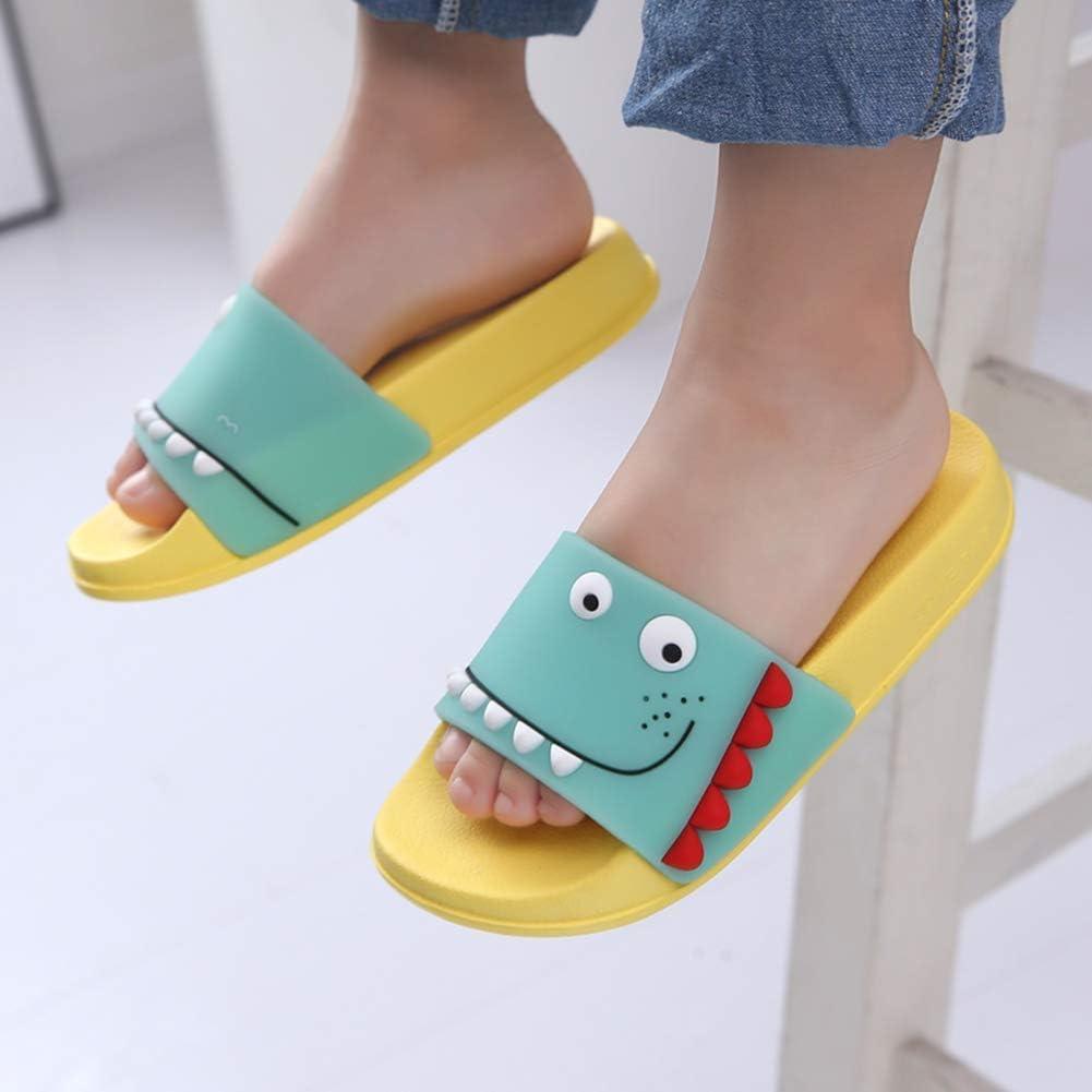 Zapatos de Playa y Piscina para Ni/ña Ni/ño Chanclas Sandalias Mujer de Verano 2020 Antideslizante Zapatillas EU34=Fabricante 23