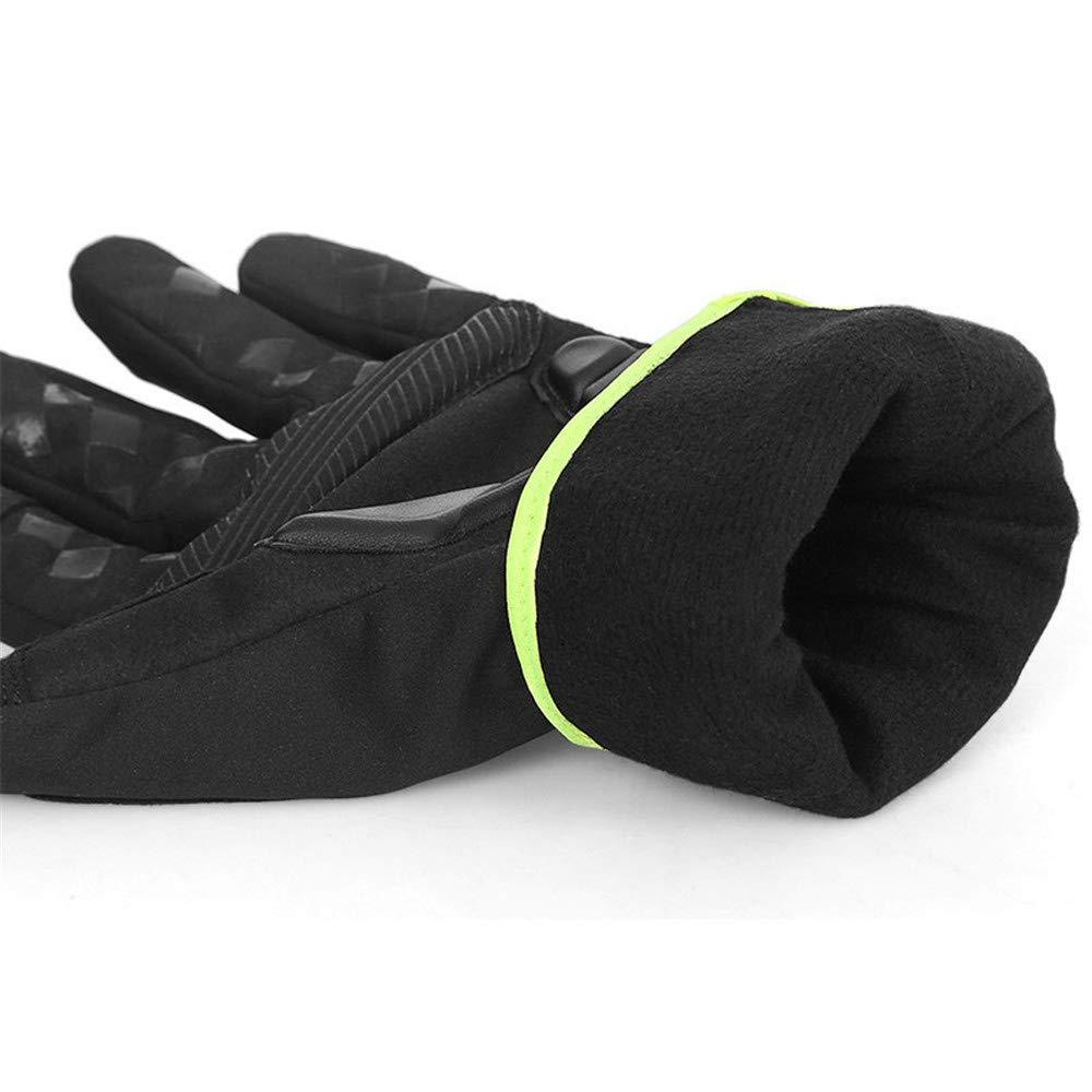 Herren Winter warme Handschuhe, Laufen Sporthandschuhe Compression Leichte Winddicht Anti-Slip Warm Touchscreen Warm Anti-Slip Liner Radfahren Arbeitshandschuhe Männer Frauen Fahrhandschuhe Anti-Rutsch-Radhandschuhe 11a8e8