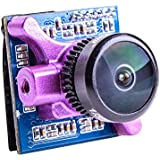 Crazepony RunCam Micro Sparrow 2 FPV Camera 700TVL Micro CMOS FPV Cam Super WDR OSD One Touch Scene Setting 4:3 for FPV Racing (NTSC)