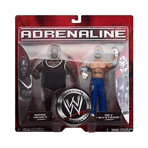 Rey Mysterio Suit (Jakks Pacific WWF WWE Adrenaline Series 19 Mark Henry & Rey Mysterio)