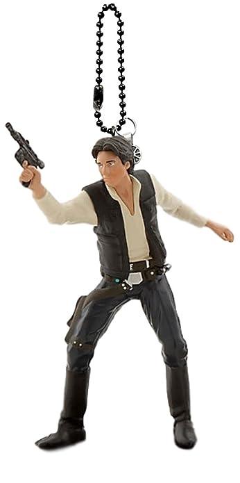 Amazon.com: Disney de Star Wars Han Solo Llavero/Dangler: Shoes