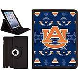 iPad 2-4 Folio Case with Auburn University Tribal, Full-Color Design