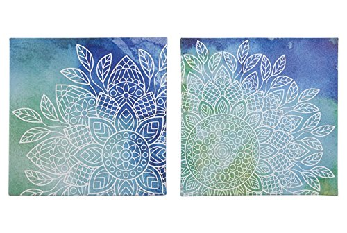 Signature Design by Ashley Andrian 2 Piece Wall Art, Blue/Green by Signature Design by Ashley