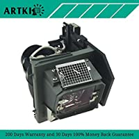 4210X Replacement Lamp for Dell 4210X 4310WX 4610X Projector with Housing (by Artki)