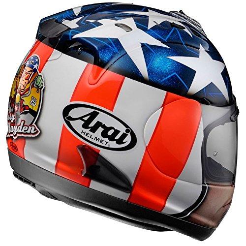 Amazon.es: Arai - Casco Mod. rx-7gp - Nicky Hayden Easy Rider, para Motocicleta L Colores Surtidos