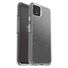 OtterBox Symmetry Clear Series Case for Google Pixel 4 XL - Stardust (Silver Flake/Clear)