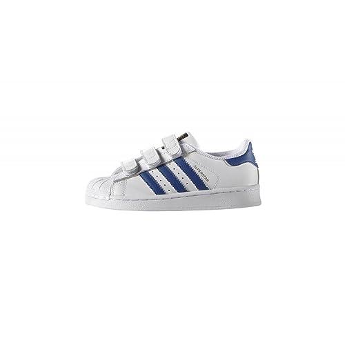 brand new c27fa 52238 Adidas Superstar FOUNDATIO Ftwwht EQTBLU EQTBLU 28