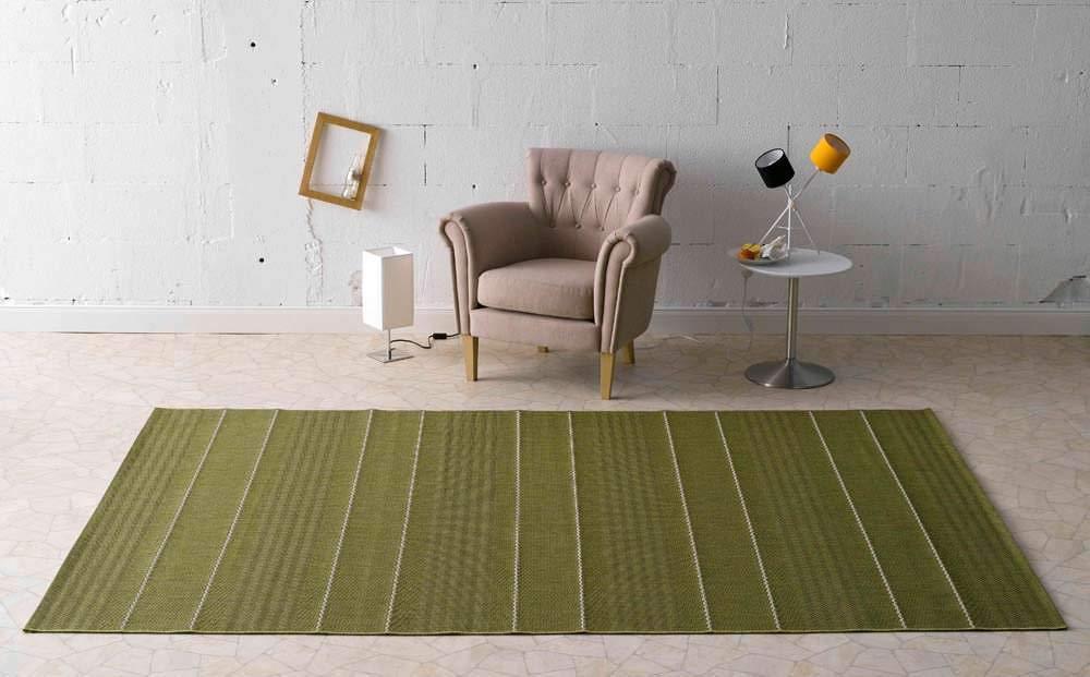 HANSE Home In-und Fürth Grün In-und Outdoor Teppich, Polypropylen, 160 x 230 x 0.8 cm