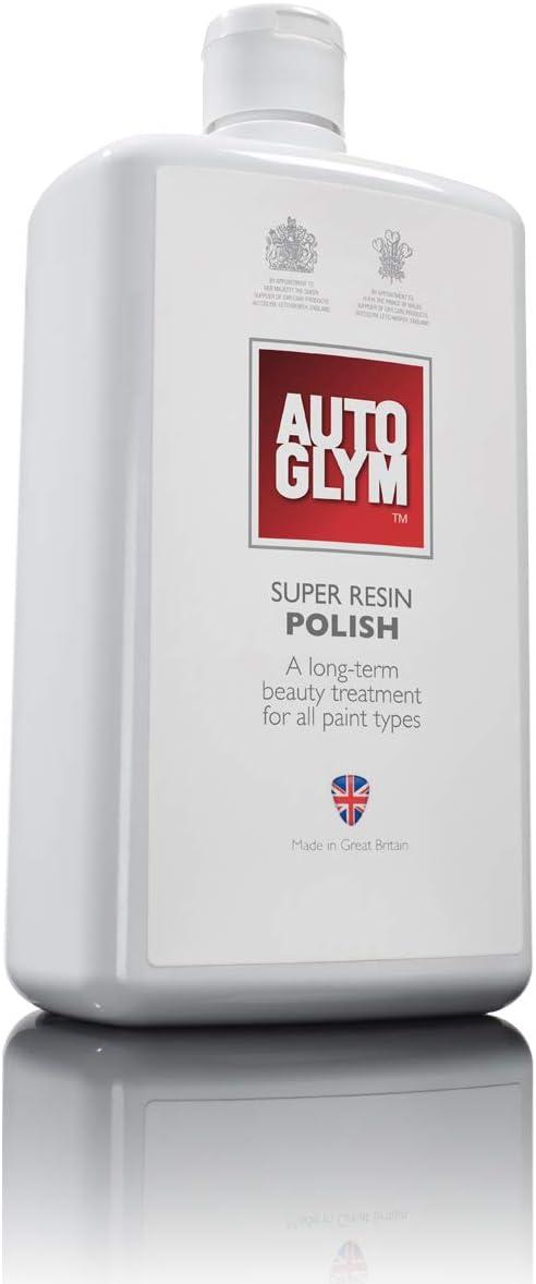 Autoglym Agrp1l Super Polish Resin Polish Entfernt Kratzer Und Schrammen Wachsähnlicher Schutz Für Autolacke 1l Auto
