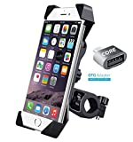 BIPM Universal 360 Degree Rotating Bicycle Motorcycle Cell Phone Cradle Mount Holder for All Size Mobile Phones