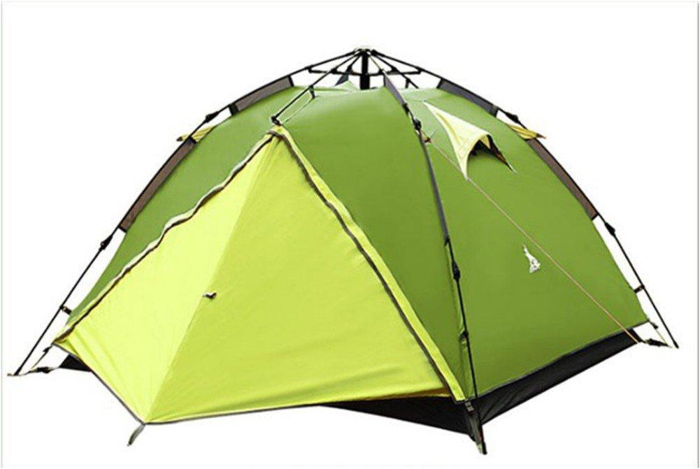 TY&WJ Campingzelt Double Layer Kuppelzelte Tipi Für Outdoor-sportarten Reise Wandern Regendichte Vollautomatische Drei Mal Verwendet 3-4 Personen