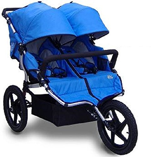 Tike Tech All Terrain X3 Sport PACIFIC BLUE Double Twin Child Stroller