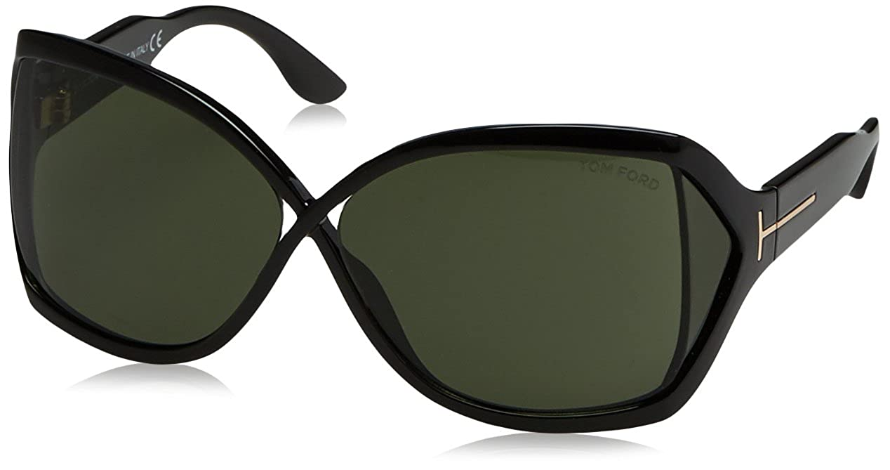 ac22c29201434 Amazon.com  Tom Ford 01N Black Julianne Butterfly Sunglasses  Tom Ford   Clothing