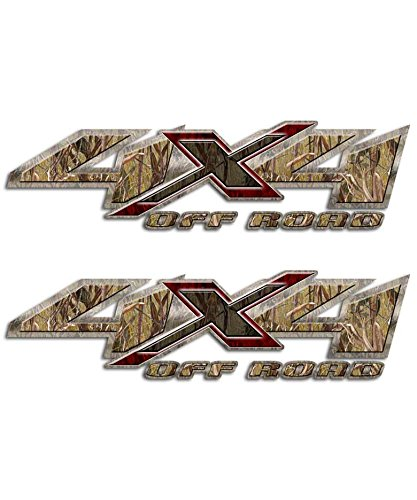 4x4 Max Grass Camo Truck Shadow X Decal Set Duck Hunting