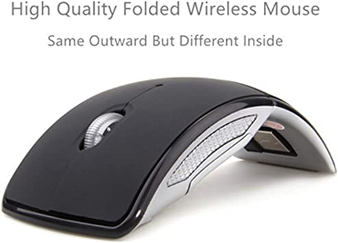 Plug and Play Red GzPuluz 2.4GHz Wireless Mini Optical Mouse with USB Mini Receiver Color : Silver Working Distance up to 10 Meters