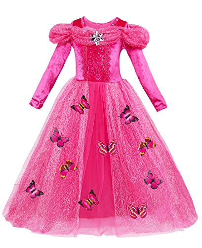 Girls Princess Cinderella Costume Dress Halloween Christmas Party Fancy Dresses
