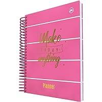 Planner Vertical A5 Com 96 Folhas Personalizadas, Pink