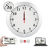 WiFi Mini Camera Wall Clock,DareTang HD 1080P Wireless Nanny Security Camera Real-Time Video with Motion Detection