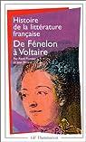 Histoire de la litterature française - de fenelon a voltaire par Pomeau