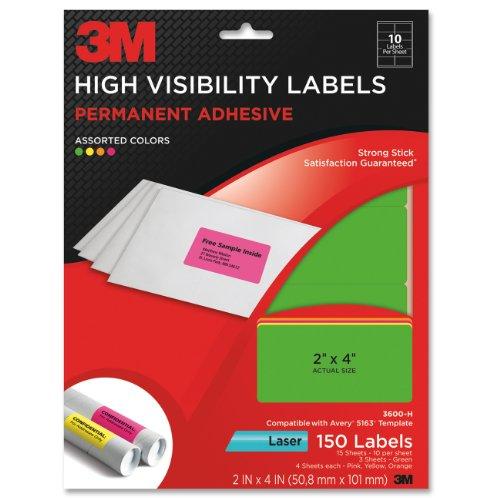 3M Permanent Adhesive Visibility 3600 H