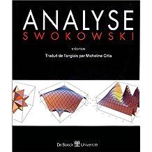Analyse (5e ed) (earl w. swokowski)