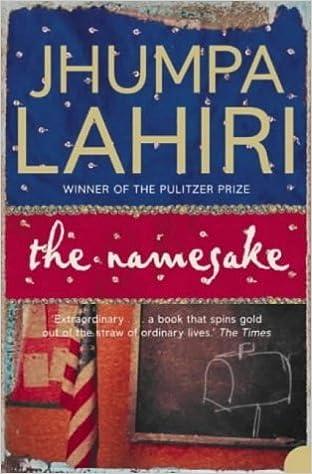 the namesake novel review