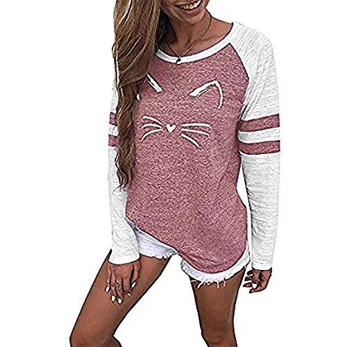 [S-5XL] レディース Tシャツ 大きなサイズ プリント 長袖 トップス クリアランスセール ホットセール 割引 プロモーション おしゃれ ゆったり カジュアル 人気 快適 薄手 普段着 ナイトクラブ ビーチ パーティー 通勤 通学 可愛い
