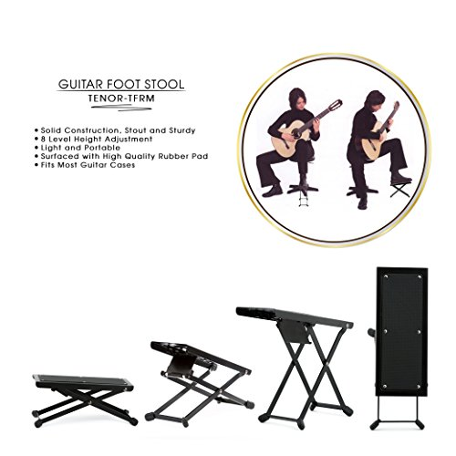 Amazon.com TENOR TFRM Professional Metal Guitar Foot Rest Sturdy Guitar Foot Stool Guitar Support for Healthier and Comfortable Guitar Playing for ...  sc 1 st  Amazon.com & Amazon.com: TENOR TFRM Professional Metal Guitar Foot Rest Sturdy ... islam-shia.org