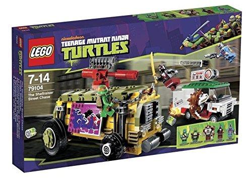 LEGO® Teenage Mutant Ninja Turtles® Shellraiser Street Chase w Minifigures 79104 (Teenage Mutant Ninja Turtles Van)