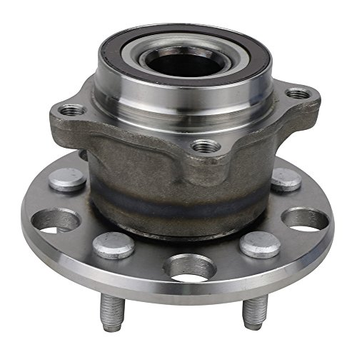 (NT512337 Wheel Bearing Hub Assembly, Rear Left/Right, for 2006-2015 Lexus IS250 (RWD, AWD)/ 06-16 IS350 / 08-14 IS F/ 15-16 RC F (RWD)/ 06-11 GS300/ GS350/ GS430/ GS450H/ GS460 (RWD, AWD), w/ABS)