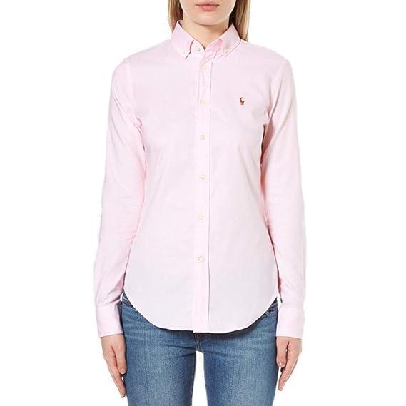 Polo Ralph Lauren Womens Kendal Oxford Shirt TW82 (18 UK, Rose ... 51b6c58dfe5