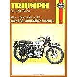 Triumph Pre-Unit Twins Owners Workshop Manual, No. 251: '47-'62