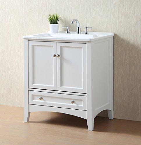 Stufurhome GM-Y01W 30.5-Inch Pure White Single Laundry Sink by Stufurhome (Image #20)