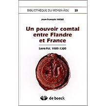 Pouvoir comtal flandre France biblio. moyen age 23