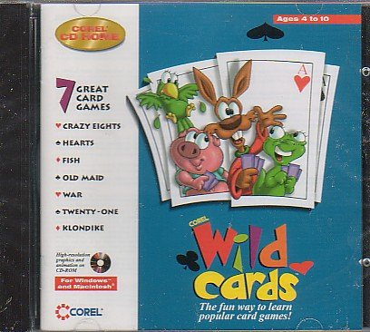 Corel Wild Cards - Go Fish, Old Maid, War & MORE