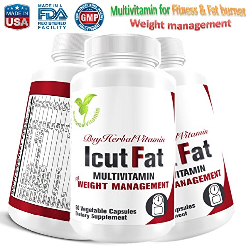 Icutfat Clinically Proven Natural Multivitamin With Powerful Weight