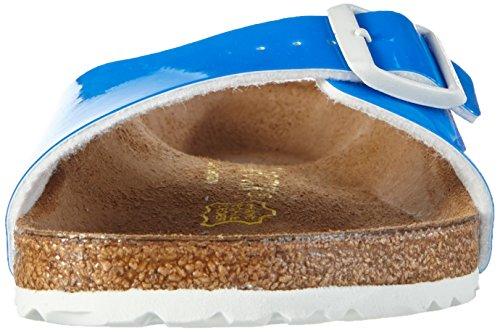 BIRKENSTOCK BIRK-40301 Madrid Leather Sandals Neon Blue b96bS60nz