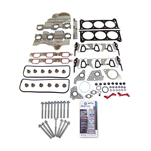 Head Gasket Set & Head Bolt Kit Fits: 06-11 Chevrolet Pontiac Buick Saturn 3.5L 3.9L